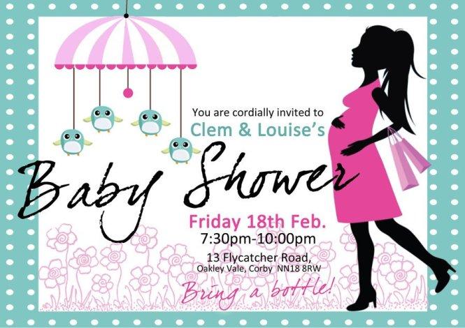 Creative Baby Shower Invitation Ideas