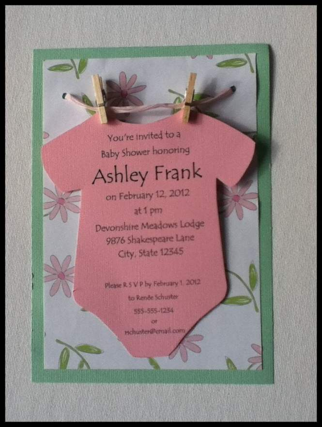Baby Shower Invitations Ideas For S