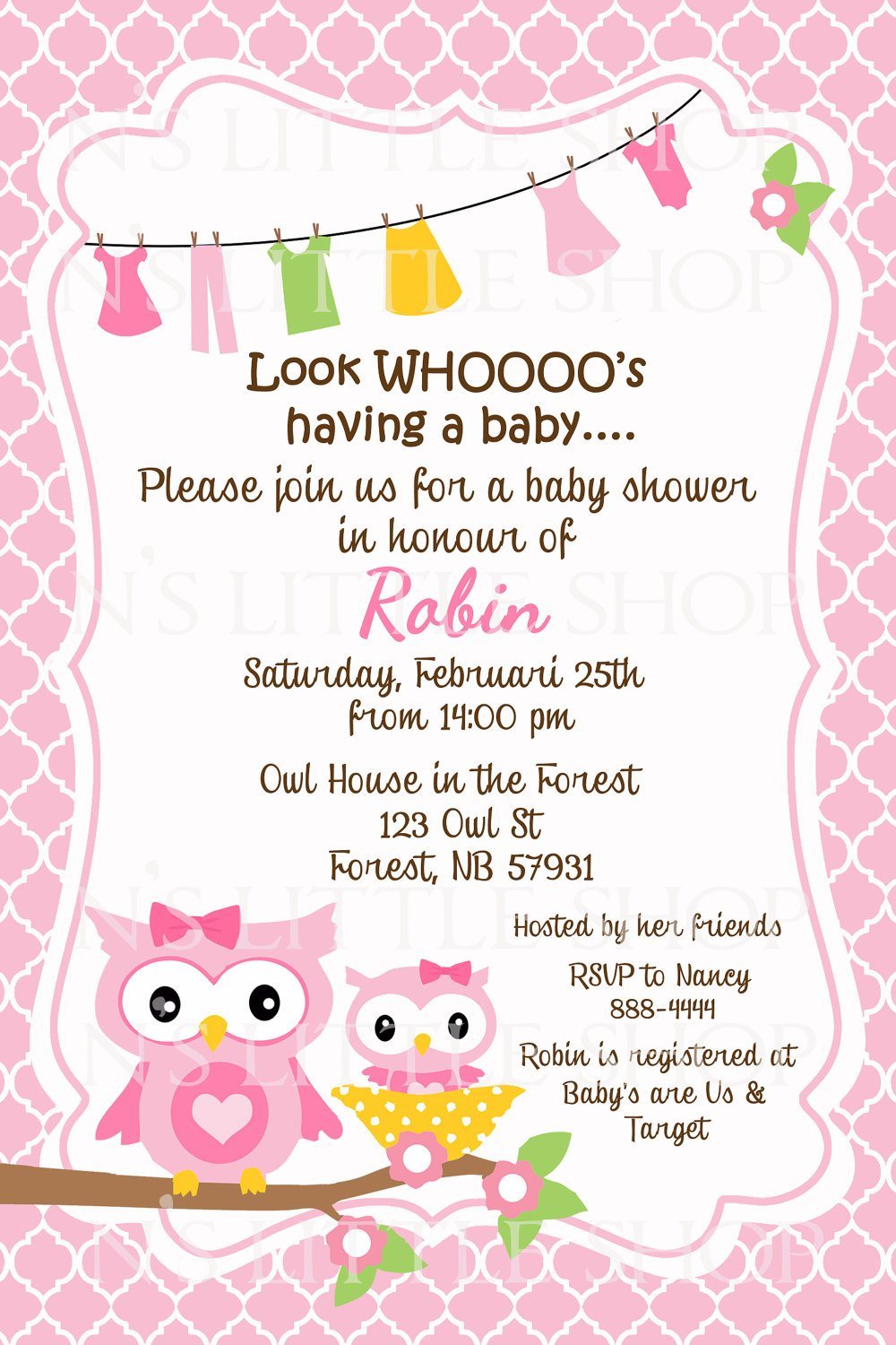 Make Baby Shower Invitation Online Free