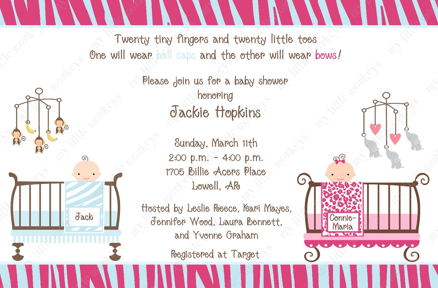 Making Baby Invitations