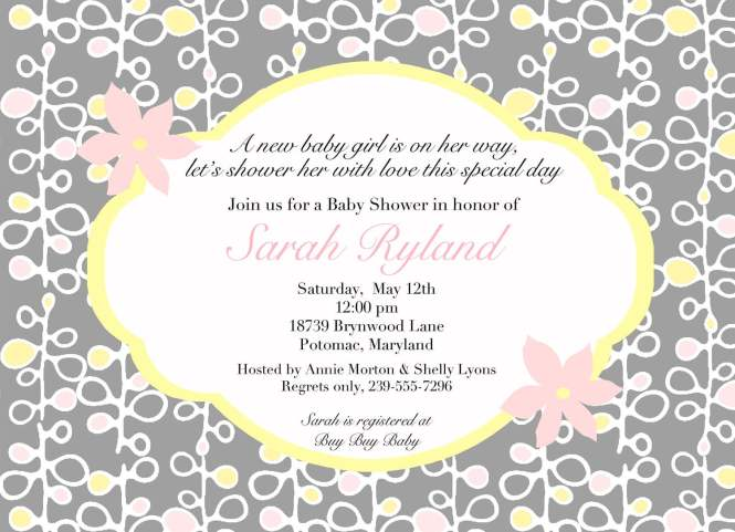 Free Online Baby Shower Invitations Printable