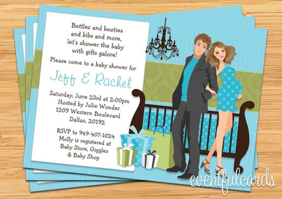 Baby Shower Couples To Inspire And Make The Surprising Invitations Interesting 10