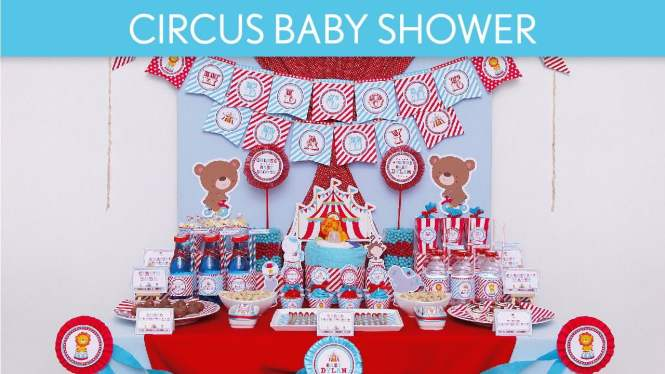Free Printable Carnival Party Baby