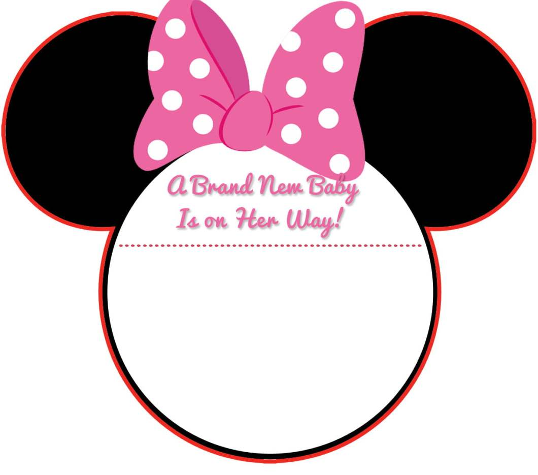 Minnie Mouse Head Invitation Template. free minnie mouse birthday ...