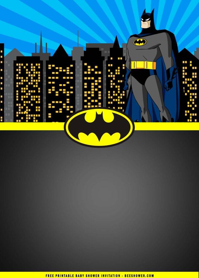 Free Printable Batman Birthday Party