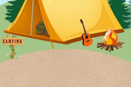 backyard camping birthday party