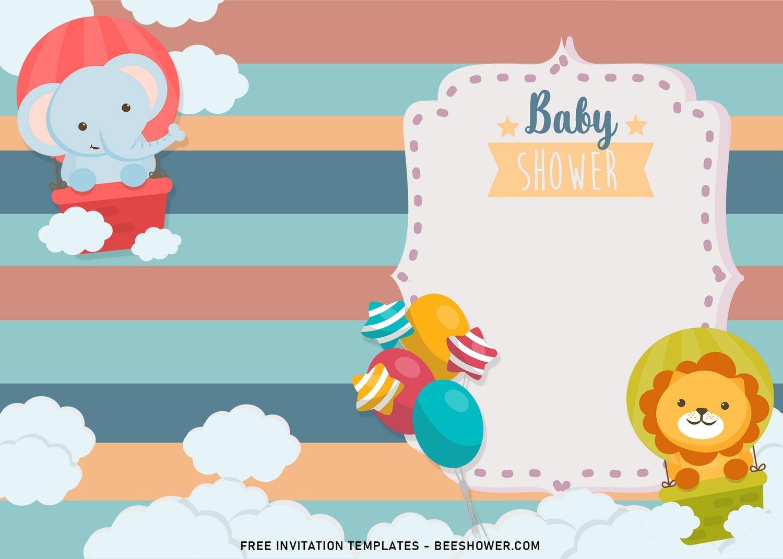 8 pastel baby animals themed birthday