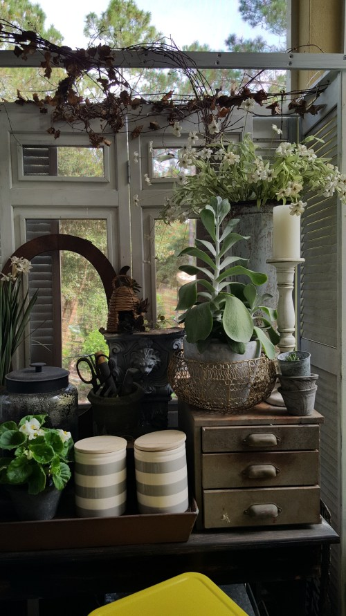 ORC Makeover Reveal Outdoor Vintage Rustic Farmhouse Retreat DIY Potting Shed Garden