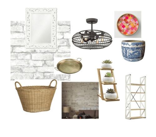 Urban Industrial Vintage Eclectic Glam Laundry Room Mood Board Polyvore