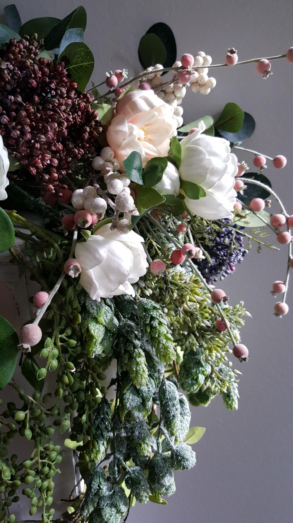 Using Faux Flowers In Your Fall And Winter Decor Bees N Burlap