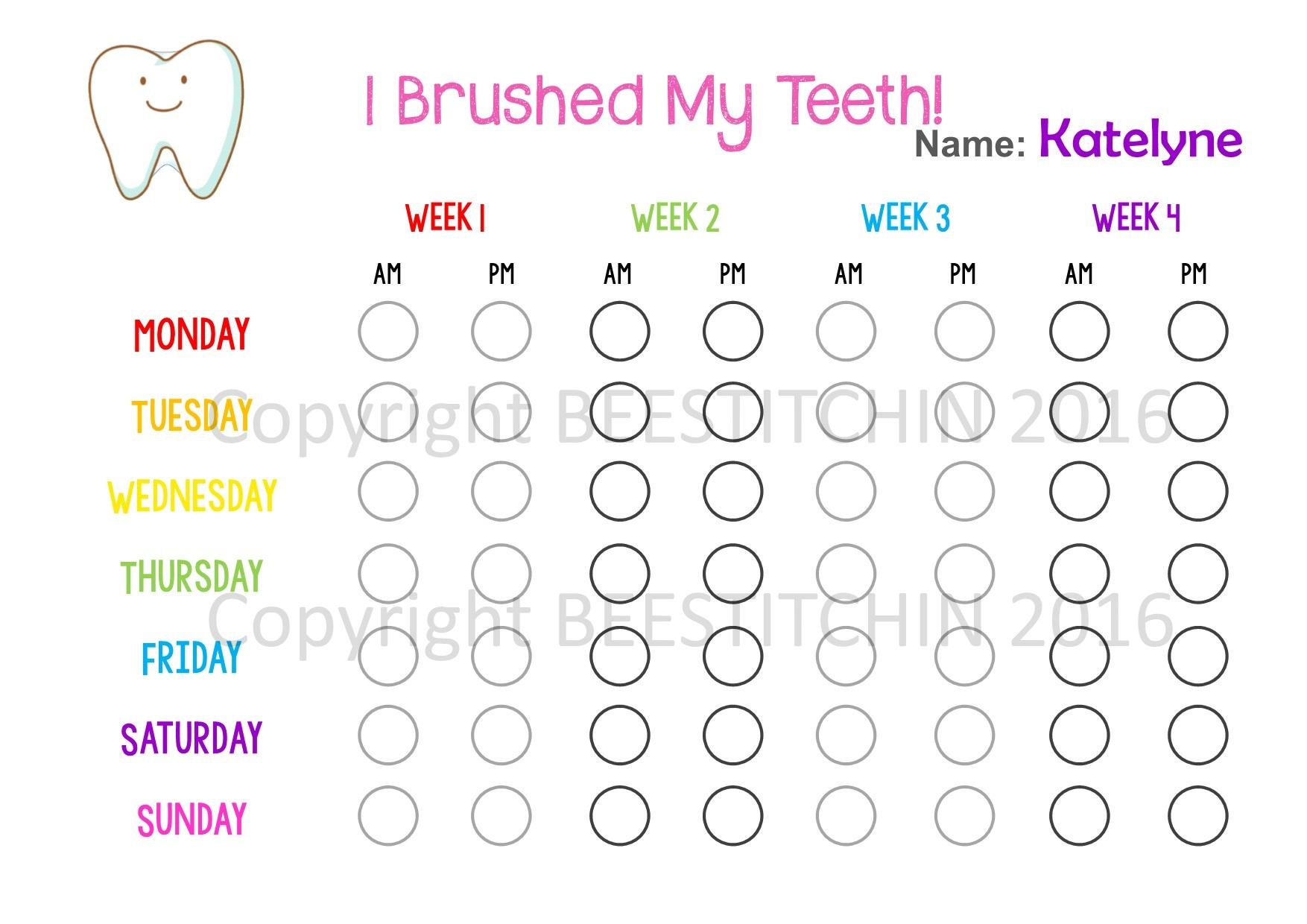 I Brushed My Teeth