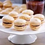 hazelnut-macarons