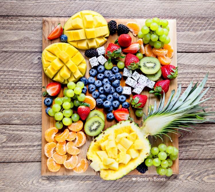fruit board photo