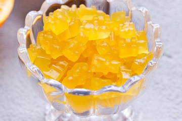 orange gummy bears