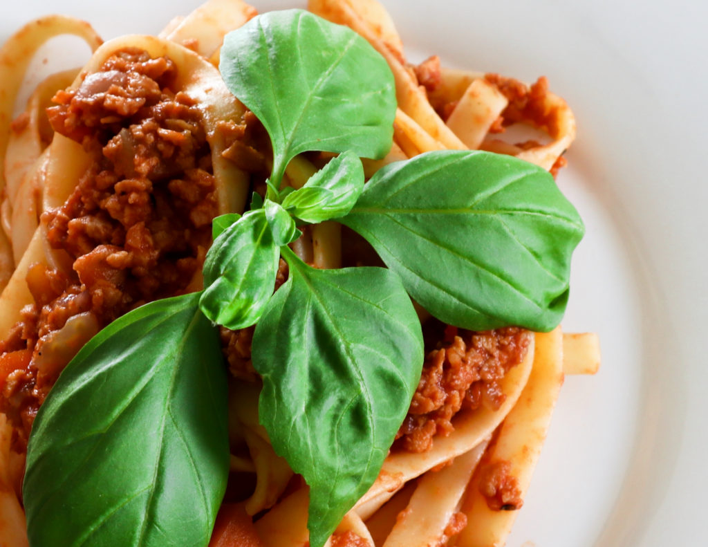 how to make vegetarian bolognese sauce