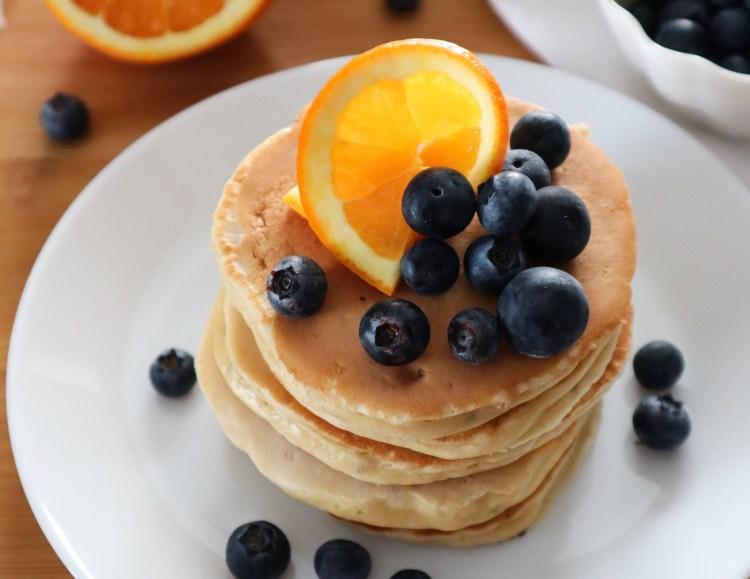 Oat Flour Chia Seed Pancakes
