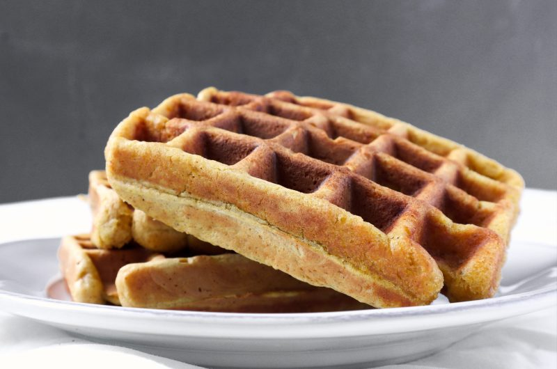 HOMEMADE ROASTED BUTTERNUT WAFFLES