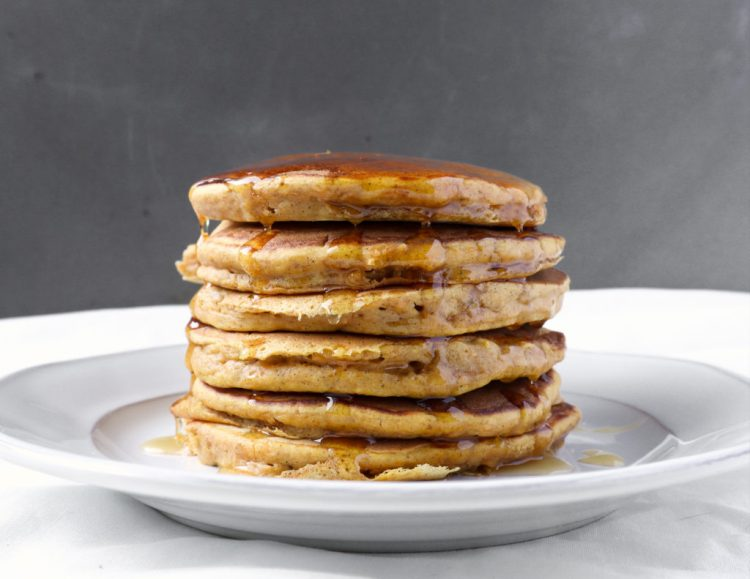 roasted butternut squash pancakes
