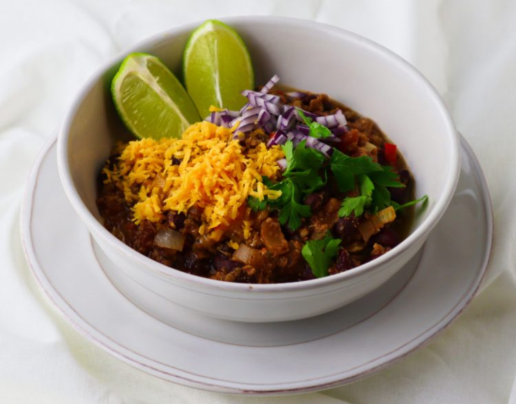 delicious vegetarian chili recipe