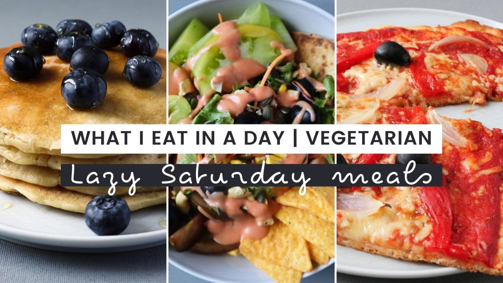 Lazy vegetarian meals to make on Saturday
