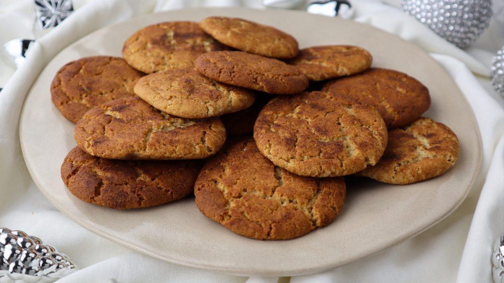 ginger cinnamon cookies