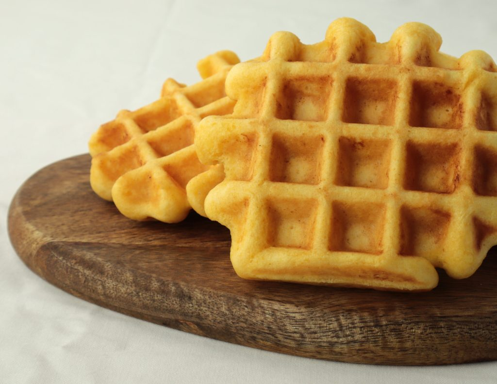quick and easy cornbread waffles