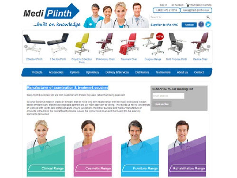 Medi-Plinth Equipment