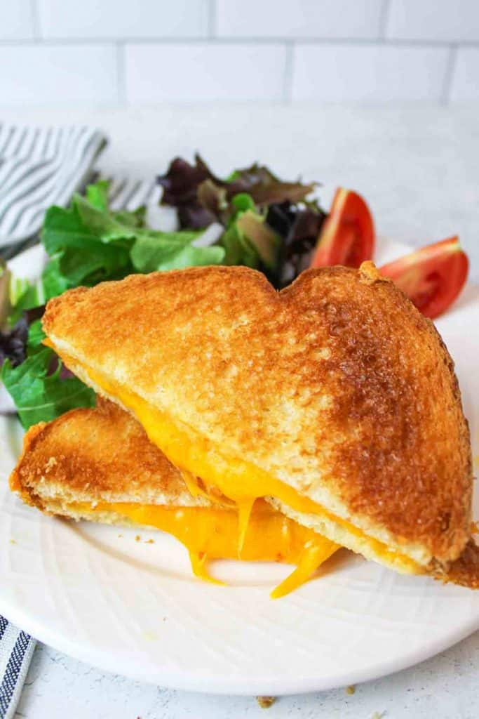 microwave grilled cheese beeyondcereal