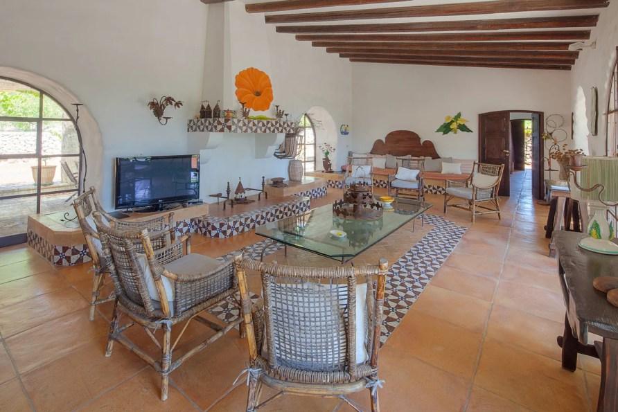 Living room Luxury Villa Demetra Leuca