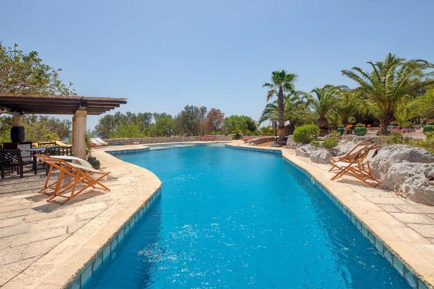 Luxury Pool Villa Demetra Santa Maria di Leuca Puglia to enjoy Sea Urchins