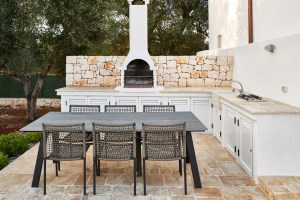 BBQ area Luxury Vacation Villa Ostuni