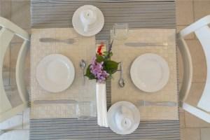 Breakfast Room Table Setting Palazzo San Giovanni BeeYond Travel