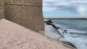 Monopoli and Winter Beach