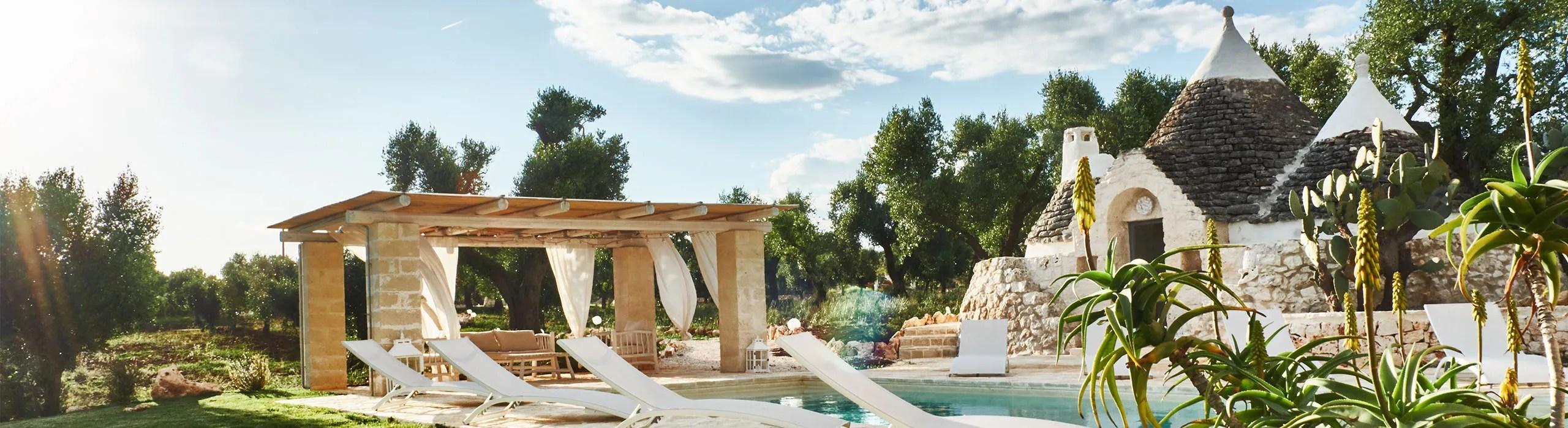 Trullo Elaion luxury stay Puglia