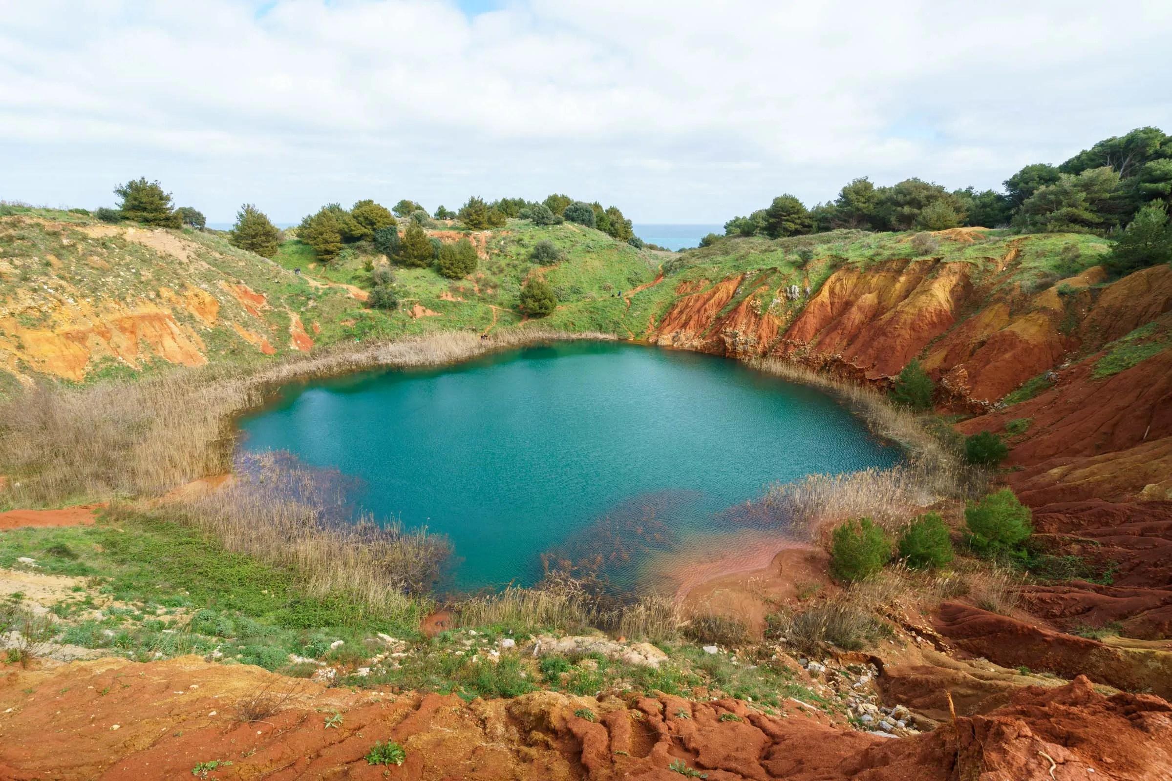 bauxite quarry Otranto Puglia by BeeYond Travel