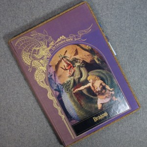 The Enchanted World – Dragons Vintage Book Padfolio