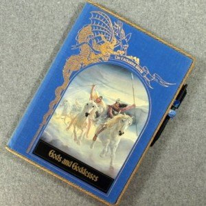 The Enchanted World Gods and Goddesses Vintage Book Padfolio