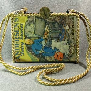 Andersen's Fairy Stories Vintage Book Laptop Purse
