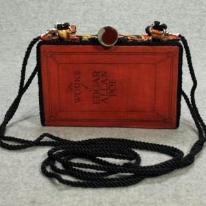 The Works of Edgar Allan Poe Vol. 111  Vintage Book Phone Purse