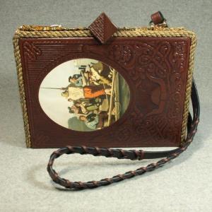 The Old West: The Riverman Vintage Book Laptop Purse