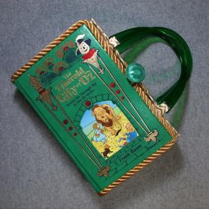 The Emerald City of Oz Book Hand Purse