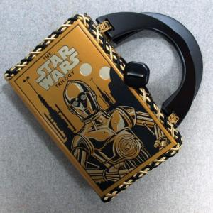 C3PO The Star Wars Trilogy Book Hand Purse