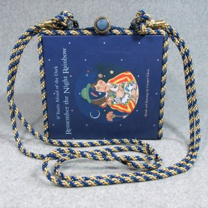If You're Afraid of the Dark Vintage Book Purse