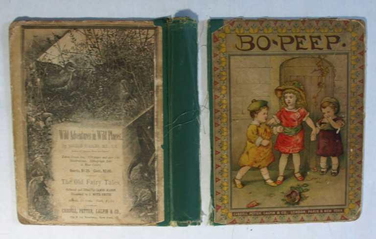 BZ14423 BoPeep Vintage Book broken