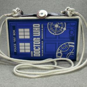 Doctor Who The Silent Stars Go By Vintage Book Shoulder Purse