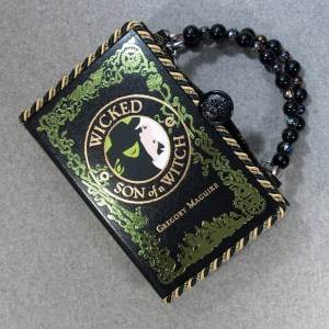 Wicked and Son of a Witch Vintage Book Hand Purse