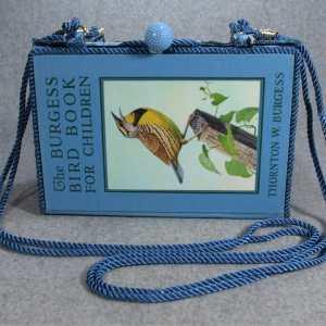 The Burgess Bird Book for Children Vintage Book Purse