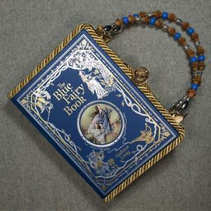 The Blue Fairy Book Vintage Book Hand Purse
