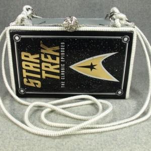 Star Trek The Classic Episodes Vintage Book Shoulder Purse