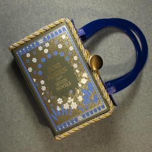 Jane Austen Seven Novels Vintage Book Hand Purse